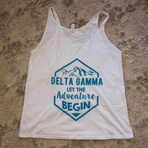 DELTA GAMMA super soft tank top
